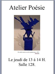 club poesie affiche 1