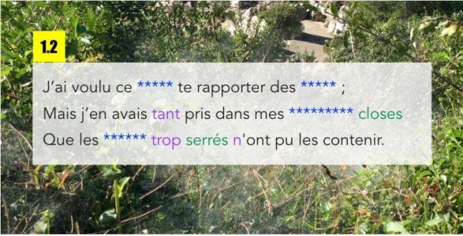 poeme à trous 2