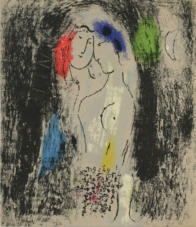 les-amoureux-en-gris-1957-marc-chagall