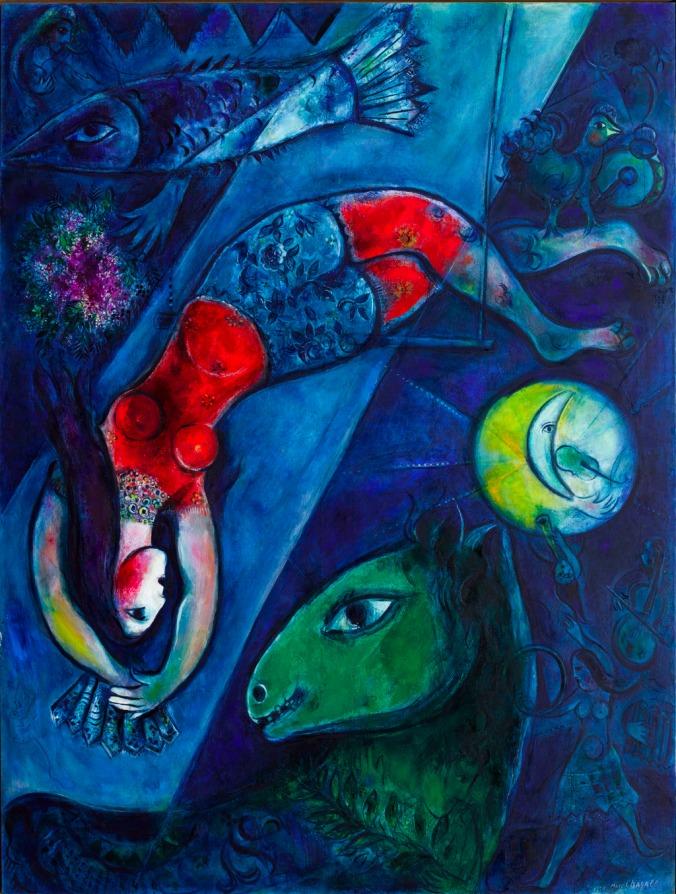 LO-Marc-Chagall-Le-cirque-bleu-1950-1952-_-Photo-RMN-Grand-Palais-musee-Marc-Chagall-Gerard-Blot-Marc-Chagall-Adagp-Paris-2016