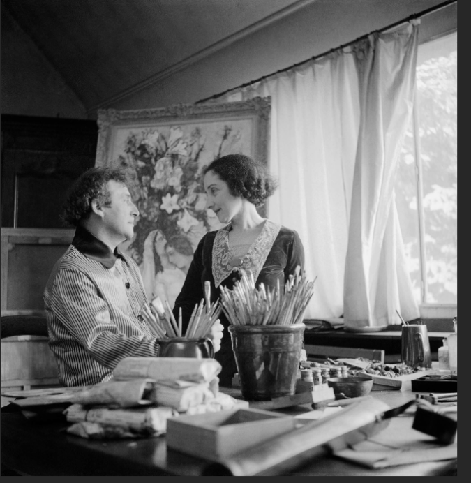 Bela et marc chagall