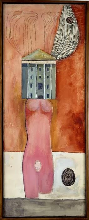 LOUISE BOURGEOIS-1946 47 Femme Maison (2)
