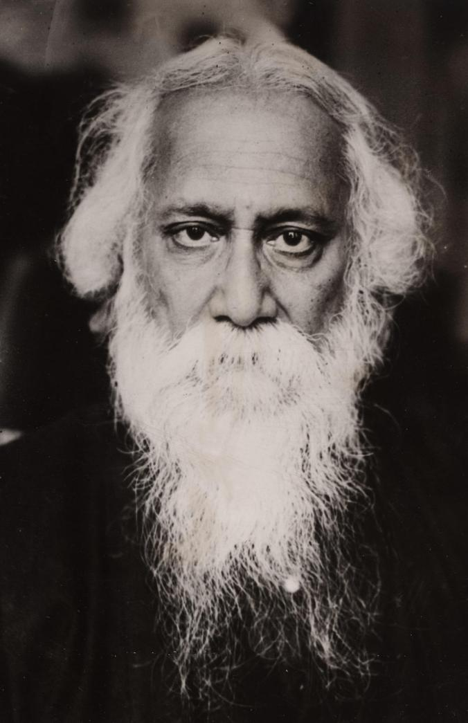 Rabindranath Tagore (1861-1941), Indian writer and poet. Ca. 1920.